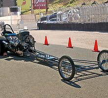 Nostalgia 'Top Fuel' Dragster by DaveKoontz