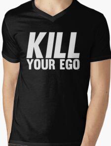 Kill Your Ego | White Mens V-Neck T-Shirt