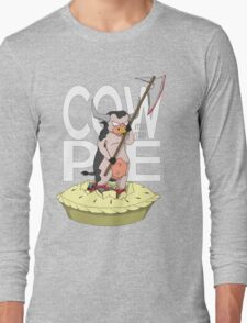 Cow-Pie Long Sleeve T-Shirt