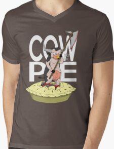 Cow-Pie Mens V-Neck T-Shirt
