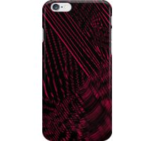 The Red Maze iPhone Case/Skin