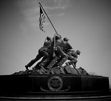 Iwo Jima Memorial by Ron Griggs
