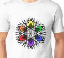 Rainbow Tribal Star Unisex T-Shirt