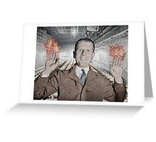 Fire Brief and Eternal Greeting Card
