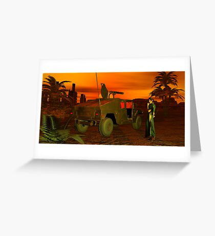 Adventurous Fantasy Scout Greeting Card