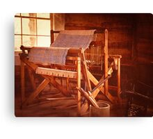 And Weave These Threads Vintage Canvas Print