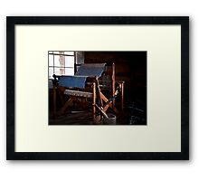 And Weave These Threads Framed Print