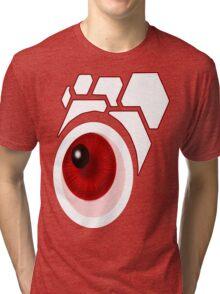 Retro Eye (White) Tri-blend T-Shirt
