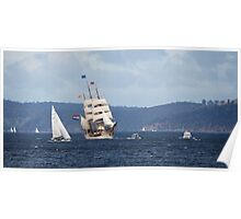 Sailing Ship Europa #7 Poster