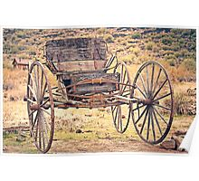 The Buckboard Bounce where West is West Vintage Poster