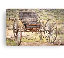 The Buckboard Bounce where West is West Metal Print