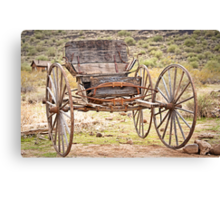 The Buckboard Bounce where West is West Canvas Print