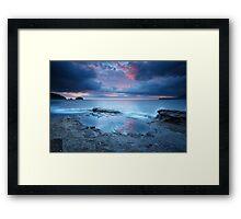 Tessellated Pavement Sunrise, Eaglehawk Neck, Tasmania #11 Framed Print