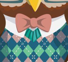 Nerdy Owl Sticker