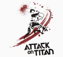 ATTACK ON TITAN - EREN ATTACK by aguirreink