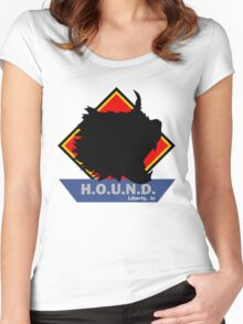 H.O.U.N.D. Women's Fitted Scoop T-Shirt