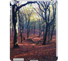 Fallen tree in Fall iPad Case/Skin
