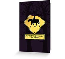 Headless Horseman case Greeting Card