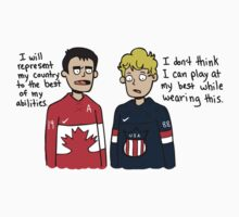 Toews and Kane Olympics by seabsbiscuit