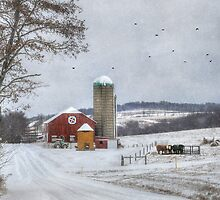 Winter in the Country by Lori Deiter