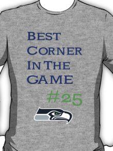 Seahawks Sherman Best Corner In Football T-Shirt