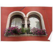 Venetian Windows Poster