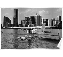 Miami Seaplane Poster