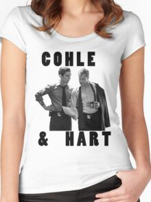 True Detective Cohle & Hart Women's Fitted Scoop T-Shirt
