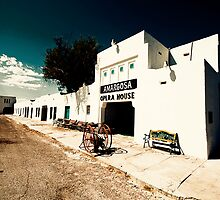 Amargosa Opera House, Nevada State Line by Mark Sayer