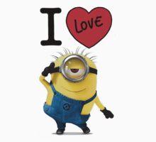 I love minions by Borghy