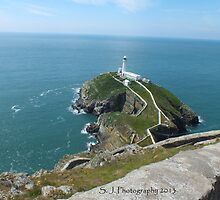 South stack Lighthouse. by Johindes