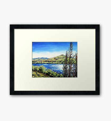 Lake Hayes, Queenstown NZ Framed Print