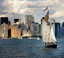 New York Sailing by Mike Suszycki