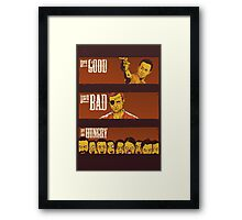 The Good, The Bad & The Hungry Framed Print