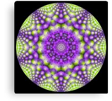 Broccoli Kaleidoscope   Canvas Print