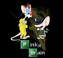 Pinky & The Brain Breaking Bad by Kate Crabtree