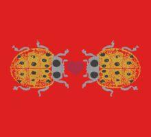 I love you ladybugs love bugs valentine Kids Tee