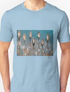 Abstract In Taupe, Chamoisee and Wheat Unisex T-Shirt