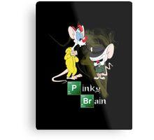 Pinky & The Brain Breaking Bad Metal Print