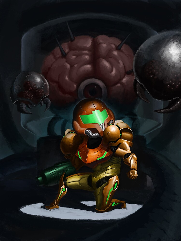 Metroid by Alcoz