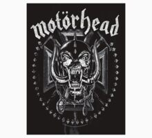 Amplified Unisex Motorhead Live To Win Short Sleeve Cotton Top Tee Shirt by ARJ85