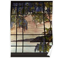 Tiffany Glass, Metropolitan Museum of Art, New York City Poster