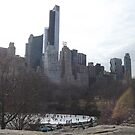One57 Skyscraper, Wollman Rink, Central Park South Skyline, New York City by lenspiro