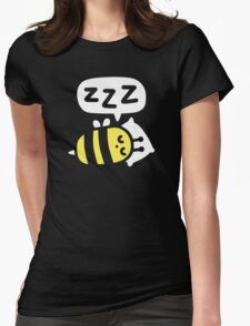 Slumber Bee Womens Fitted T-Shirt