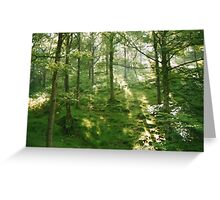 Magical  woodlands Greeting Card