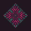 Neon Diamond by Hector Mansilla