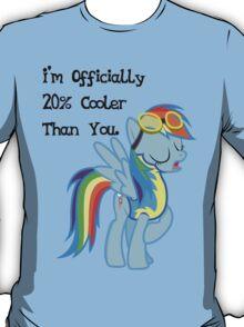 Rainbow Dash - Twenty Percent Cooler T-Shirt