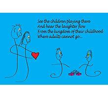 The kingdom of childhood Photographic Print