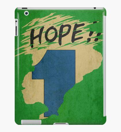 Hope!! (time machine) iPad Case/Skin