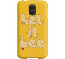 Let it Bee Samsung Galaxy Case/Skin